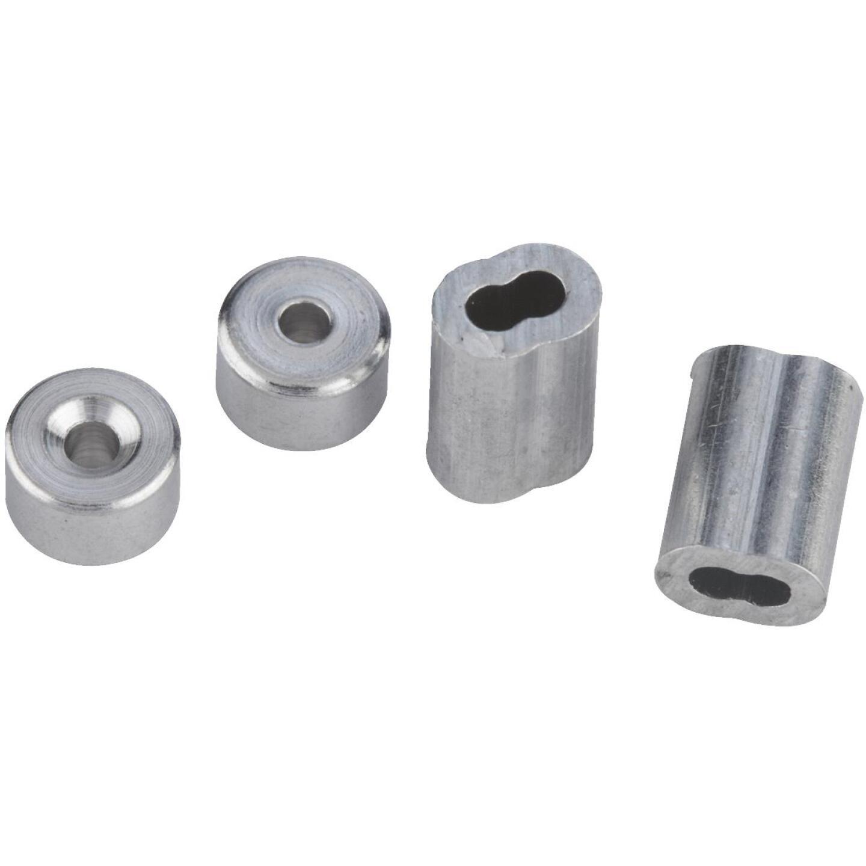 National 5/32 In. Aluminum Garage Door Ferrule & Stop Kit Image 3