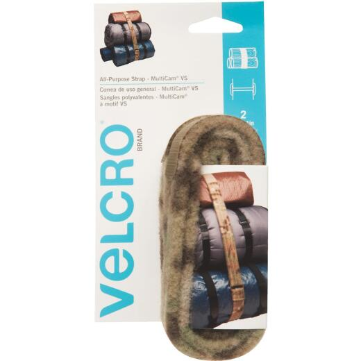 VELCRO Brand Camouflage 4 Ft. All Purpose Tie Down Strap