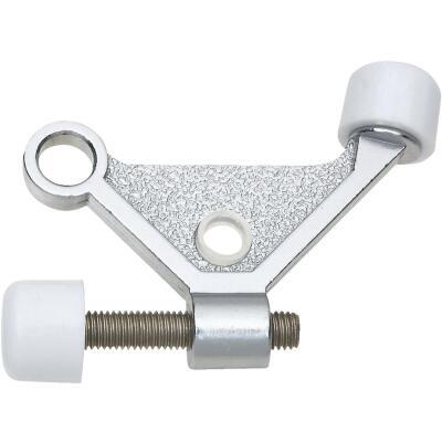 National Satin Chrome Zinc Hinge Pin Door Stop