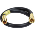 MR. HEATER 22 In. x 3/8 In. MPT x 3/8 In. Female Flare LP Hose Assembly Image 1