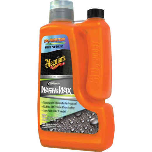 Meguiar's 48 Oz. Liquid Hybrid Ceramic Car Wash & Wax