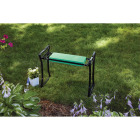 Best Garden Green Foam Pad w/Black Steel Frame Garden Kneeler Bench Image 10