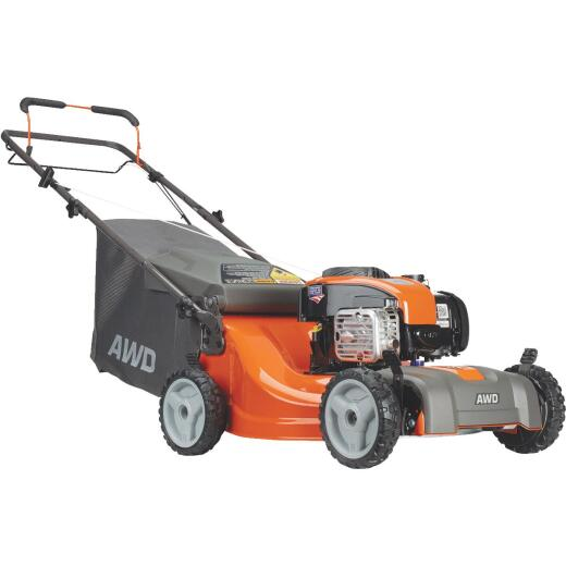 Husqvarna LC221A 21 In. 163cc Briggs & Stratton Self-Propelled All Wheel Drive Gas Lawn Mower
