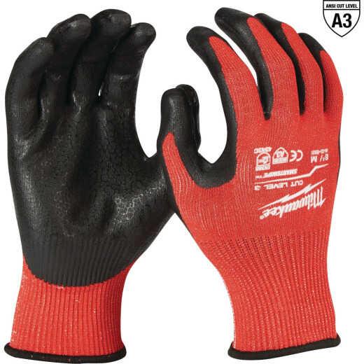 Milwaukee Unisex Medium Cut 3 Dipped Work Glove