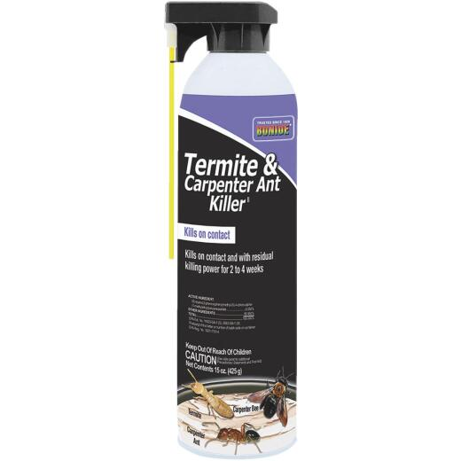 Bonide 15 Oz. Aerosol Spray Termite & Carpenter Ant Killer